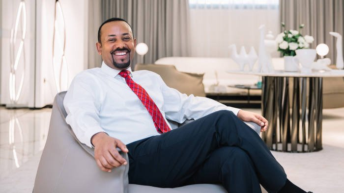 "ICYMI: EXCLUSIVE INTERVIEW with #Abiy Ahmed: 'This place has gone from hell to paradise"" >> on office refurbishment - and #Ethiopia??  https://t.co/5fnvw3mCkg"