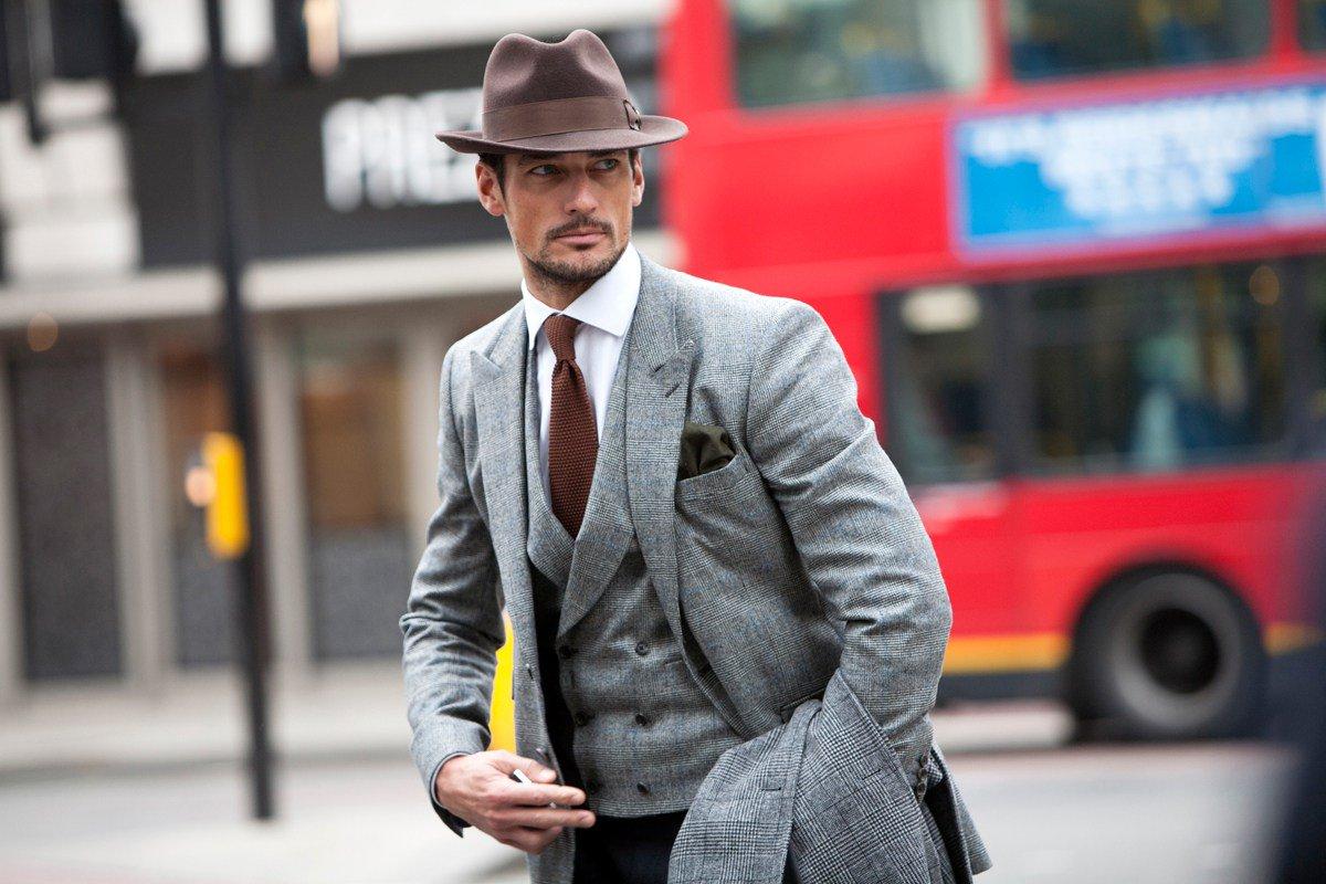Стильные фото мужчин в шляпе
