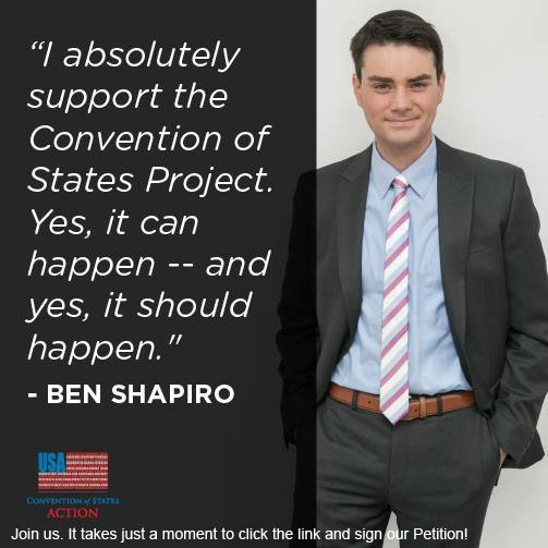 AND...if you ever expect to have our federal government back under the control of #WeThePeople, you should support it too. #COSProject #PJNET