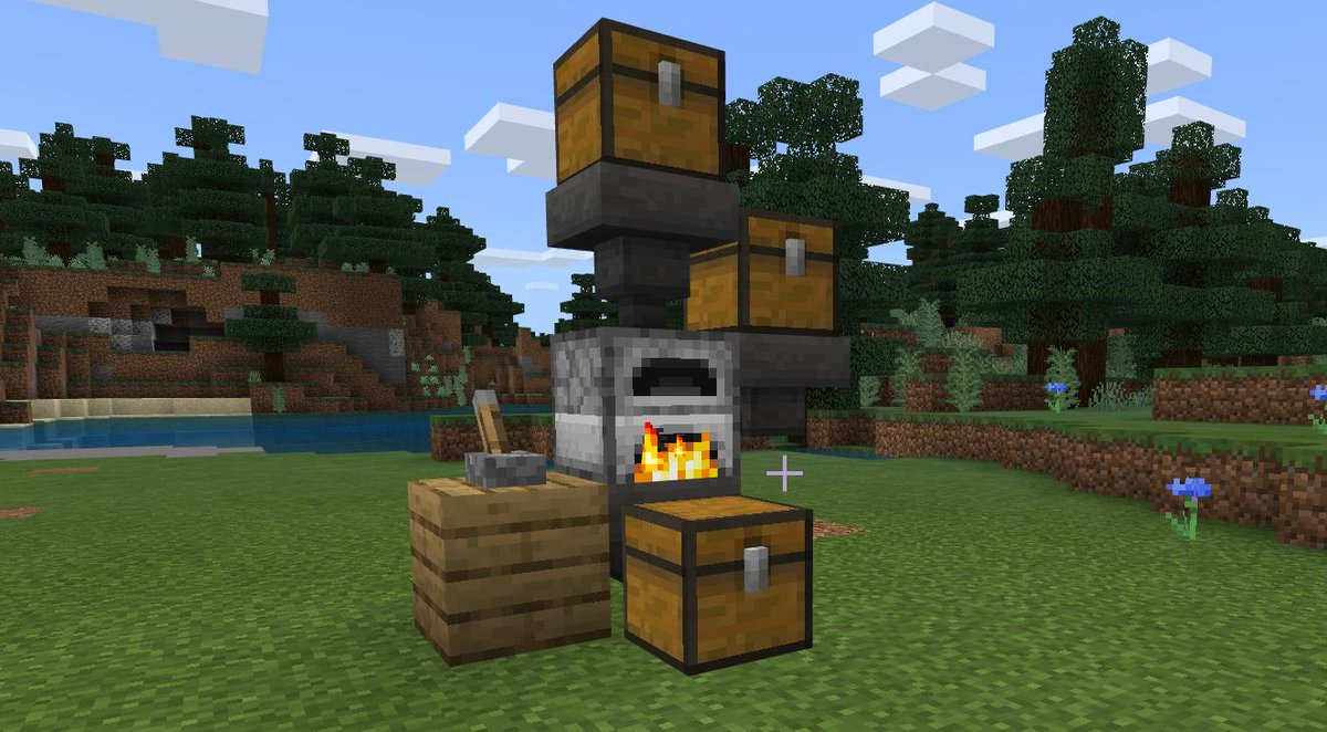 David On Twitter Congrats To Realtomicstars For Being The First To Guess The New Feature I Added To Bedrock Furnaces Storing Xp Starting In 1 11 When Unloaded By Hopper They Store