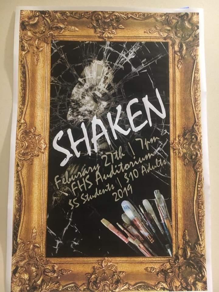 """Shaken"" on Weds, Feb 27"