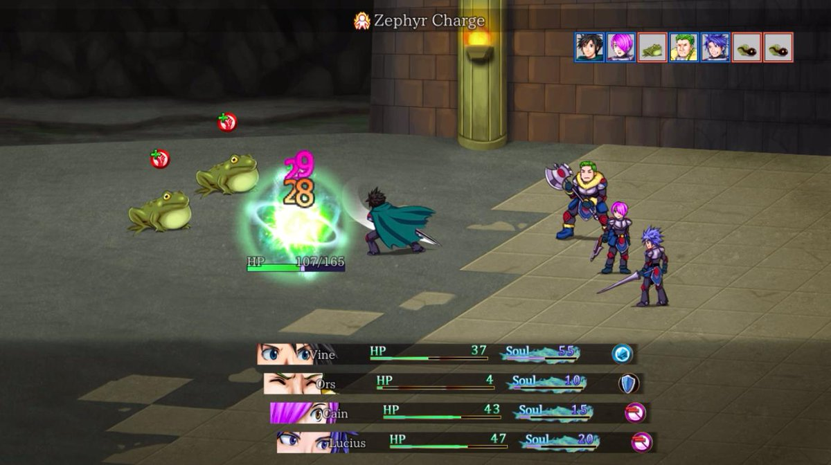 Team Valiant Souls is creating a unique and classic 2D JRPG