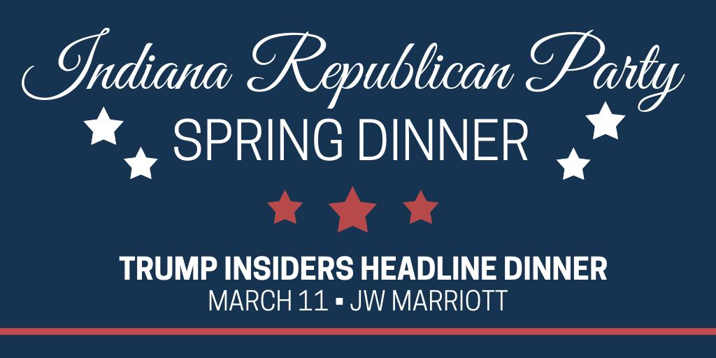 We're now less than one month away from 2019 #Indiana Republican Party Spring Dinner. Have you booked your ticket yet to hear behind-the-scenes stories from Trump insiders @CLewandowski_ & @David_Bossie?   Get your tickets now --> http://indiana.gop/2019springdinner …
