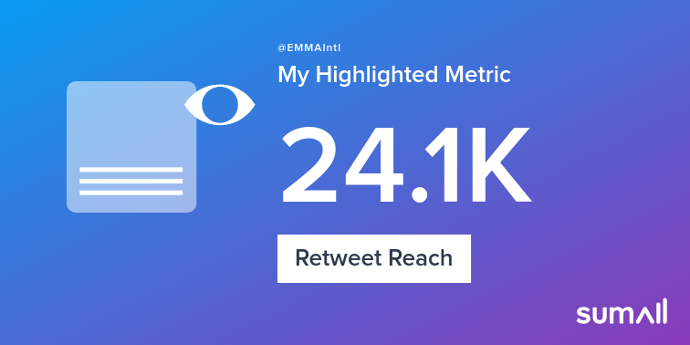 My week on Twitter 🎉: 1 Like, 4 Retweets, 24.1K Retweet Reach, 1 New Follower. See yours with https://sumall.com/performancetweet?utm_source=twitter&utm_medium=publishing&utm_campaign=performance_tweet&utm_content=text_and_media&utm_term=5aff9a5ab484eedfee769d98…
