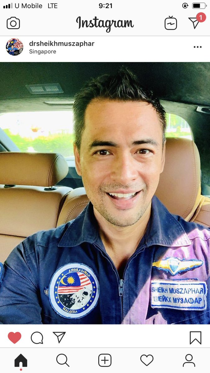 Is the Earth flat? Look at how Dr Sheikh Muszaphar answered the q. No mocking, no cursing lines, only full with warm & beautiful words written. He is always an inspiration to all.💗 Malaysians love you!!