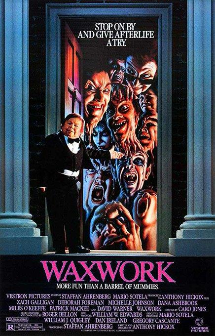 Happy 55th birthday to Zach Galligan ( I think I may have to watch WAXWORK tonight...