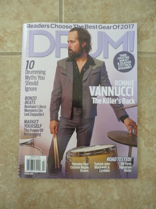 Happy Birthday, Ronnie Vannucci!