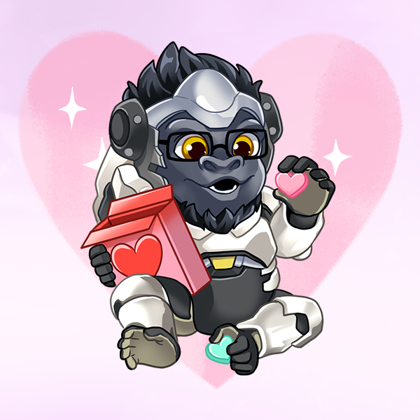 Thank you for celebrating with us, Valentines! 💕 This heroic art 🎨 by @OnstaMonsta & @uguubear