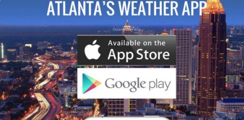 4 to 6 inches of rain is possible in metro Atlanta over the next week -- and even more in far north Georgia.  Be sure you have the latest forecast with the Severe Weather Team 2 weather app:  http:// 2wsb.tv/Weather2Go  &nbsp;   <br>http://pic.twitter.com/VxXL7ffUGZ