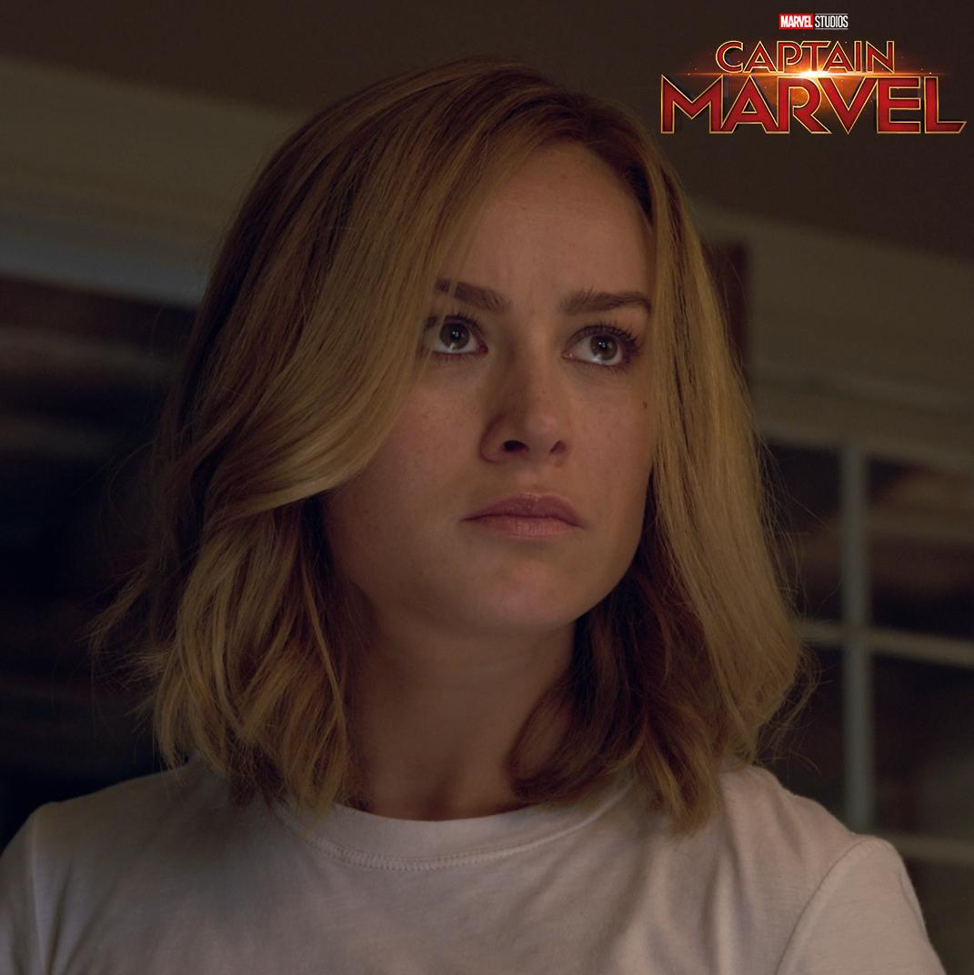 On March 8, who can you trust? Marvel Studios' #CaptainMarvel is in theaters in three weeks. Get tickets now: http://www.Fandango.com/CaptainMarvel