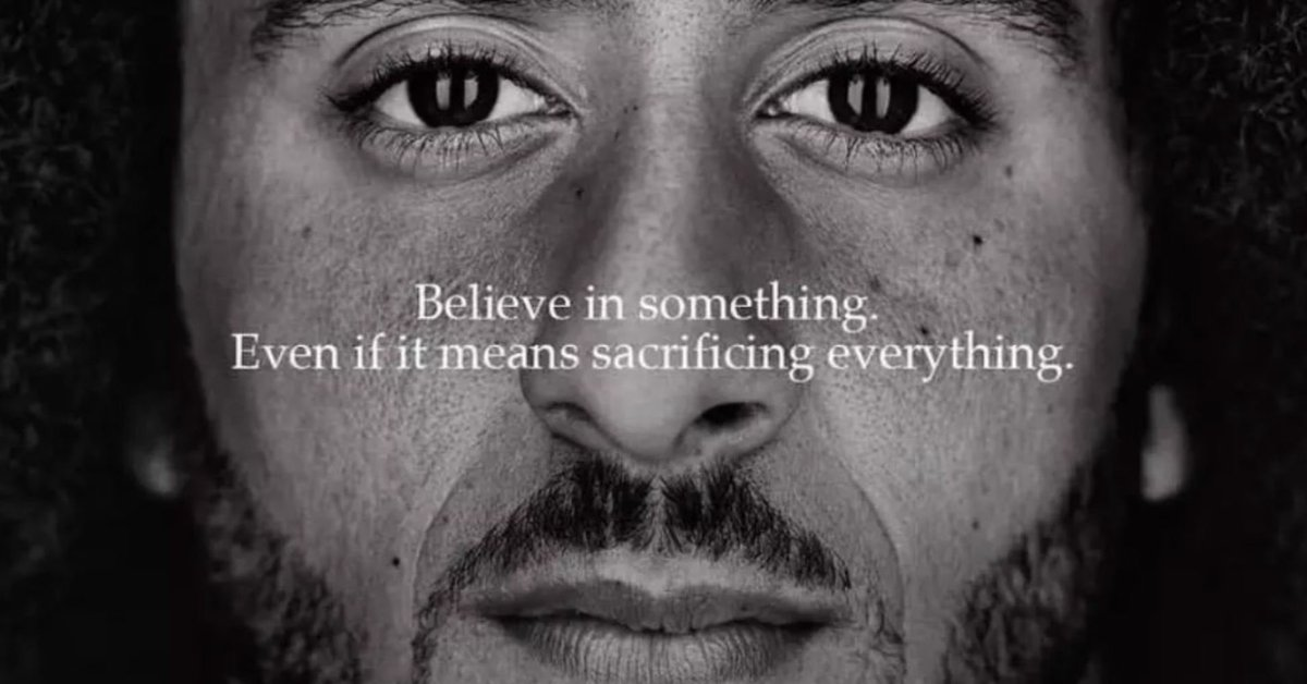 I love that Colin Kaepernick just asked the @TheAAF for $20 million. Renders everything he and his followers have tried to convince us of in that stupid #Nike ad campaign completely meaningless. It was a total farce. (Now watch as the triggered ones come at my timeline... 😂)
