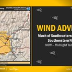 Image for the Tweet beginning: ⚠💨 WIND ADVISORY ⚠💨 Issued for