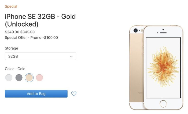 $249 iPhone SE Again Back in Stock on Apple&#39;s Clearance Site  http://www. 3u.com/news/articles/ 8460/249-iphone-se-again-back-in-stock-on-apples-clearance-site &nbsp; … <br>http://pic.twitter.com/swF2TBvYPb