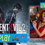 Image for the Tweet beginning: I'm live with Resident Evil