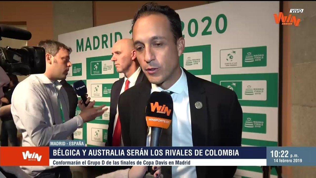 """""""Colombia tiene  potencial para hacerle juego a Bélgica y Australia"""": Pablo González, capitán Selección Colombia de tenis."""