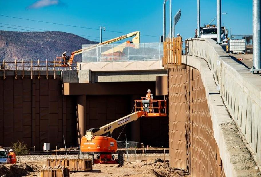 The new Interstate 10 interchange at Ina Road in Marana is set to open in the coming weeks with high-tech cameras and sensors to keep traffic flowing. Learn more about the project in a growing area northwest of Tucson:  https://t.co/PTTEsZ6hPe