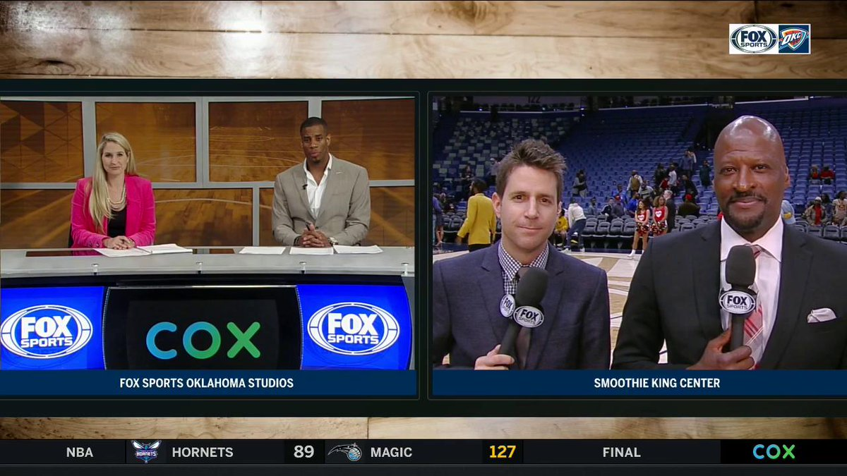 Even though the @okcthunder couldn't grab one last W before the break, @Exhoopsmc and Chris Fisher like where this team is at right now.  #ThunderUp