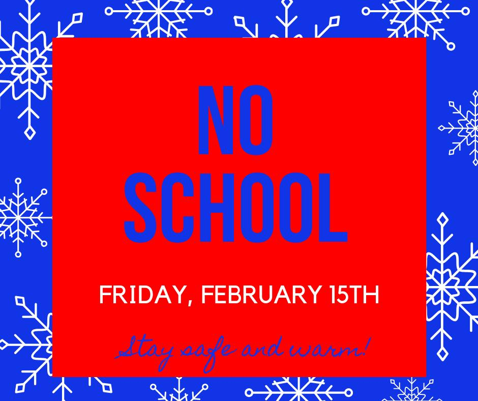 Due to the timing of the anticipated inclement weather, Clinton Schools will be closed Fri, Feb 15. Thank you for your patience & understanding as we continue to put the safety of our students and staff first @HenryElementary @CIScards345 @CMSCardinals @CHSCards @ClintonTechSch