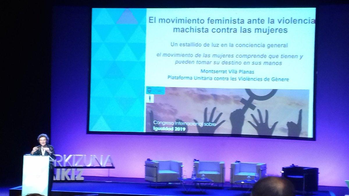 @montserratvilaplana #Feminismoa #berdintasuna