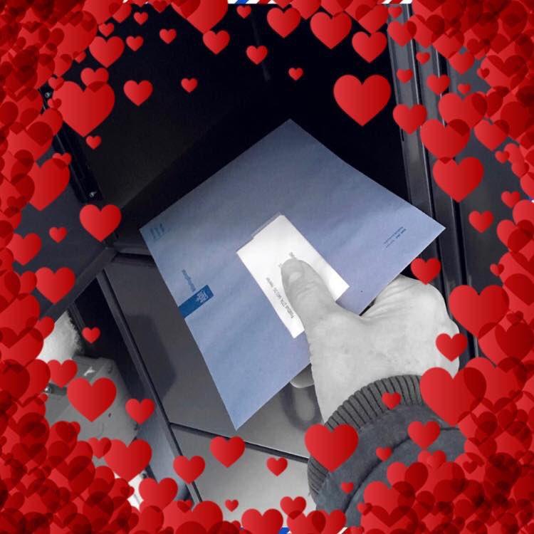 Sommige aanbidders zijn dan weer erg vasthoudend... 💌 Ook dit jaar kwam weer een brief van m'n trouwe maar eigenlijk ongewenste Valentijn 'B'. #LoveletterfromB #zedoenhetergewoonom #valentijnsdag2019 #valentine #taxman #belastingdienst #leukerkunnenwehetnietmaken