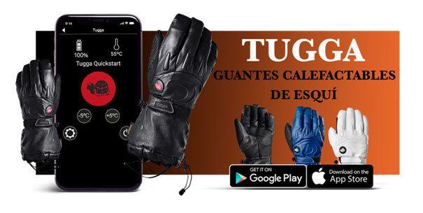 ¿Te imaginas ir en el telesilla con las temperatura de las manos controlada desde el teléfono? 😍 Ahora es posible con los guantes calefactables Tugga ➡️ https://t.co/FUK9I6M4Wh