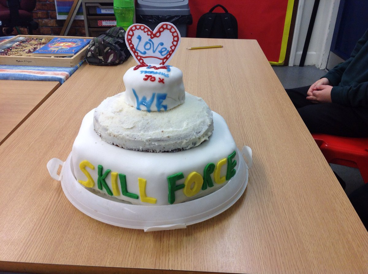 Superb cake made to say thank you to Jo for working with us during the last 18 weeks. @ThePWAwardEng