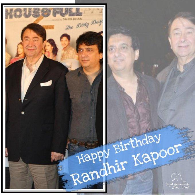 Here\s wishing Randhir Kapoor a Happy Birthday!