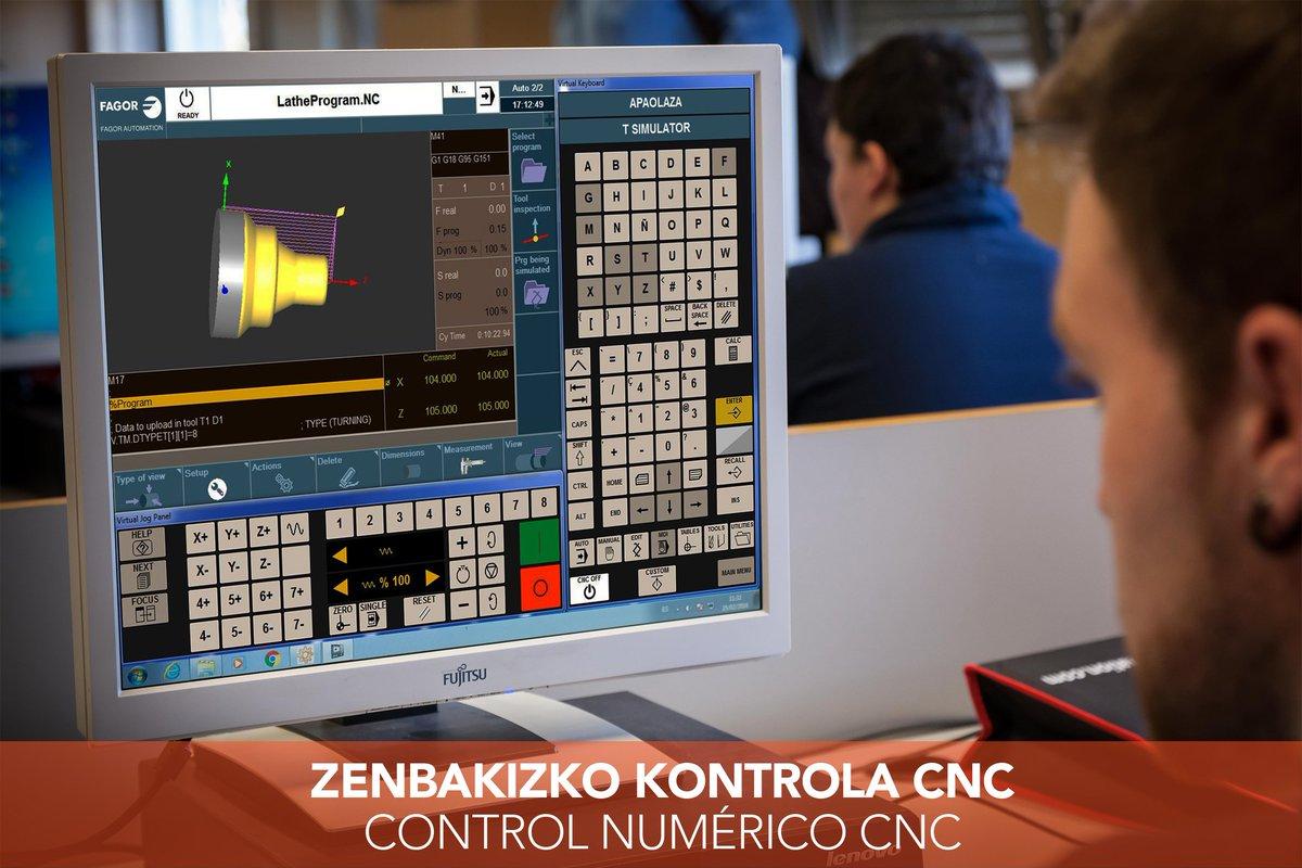 fagor automation (@fagorautomation) twittercurso de especialización de cnc fagor ¡100% subvencionado y para trabajadores del metal! www imh eus es noticias cursos especializacion fagor \u2026