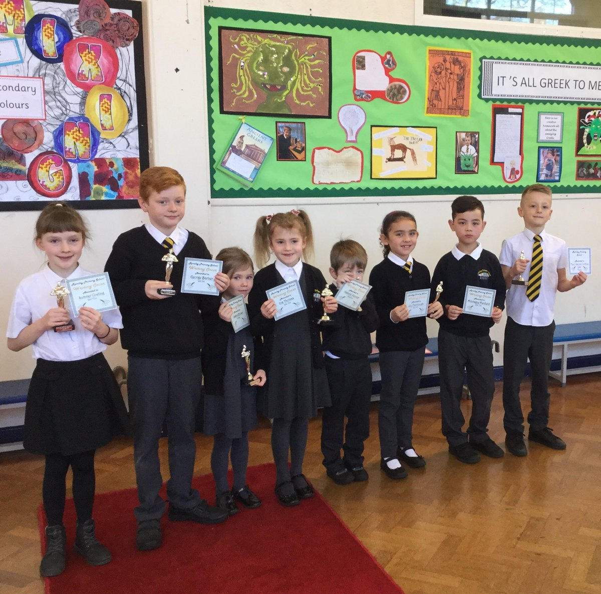 @RomileyPS Writing Oscar winners. This is the result of their outstanding work and effort. Well done all, I am so proud of you. 👏📝👏📝