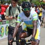 Image for the Tweet beginning: D-9 @Tour_du_RwandaGasore Hategeka hold