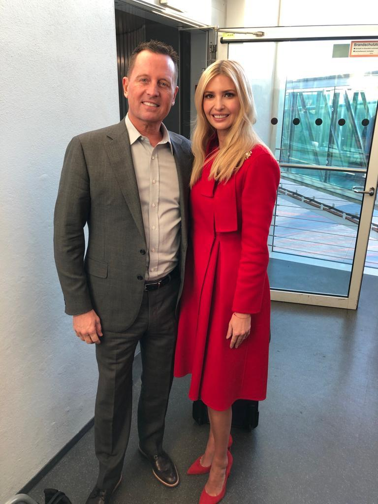 .@MunSecConf kicks off today!  Ambassador Grenell welcomes @IvankaTrump to #Munich. #MSC2019