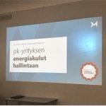 Image for the Tweet beginning: Tänään mietitään Pirkanmaan Yrittäjien kanssa