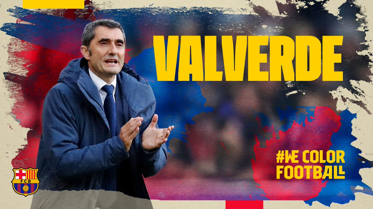 ❗ [LATEST NEWS] Agreement to extend Ernesto Valverde's contract  More info 👉 http://ow.ly/poYY30nI04Q