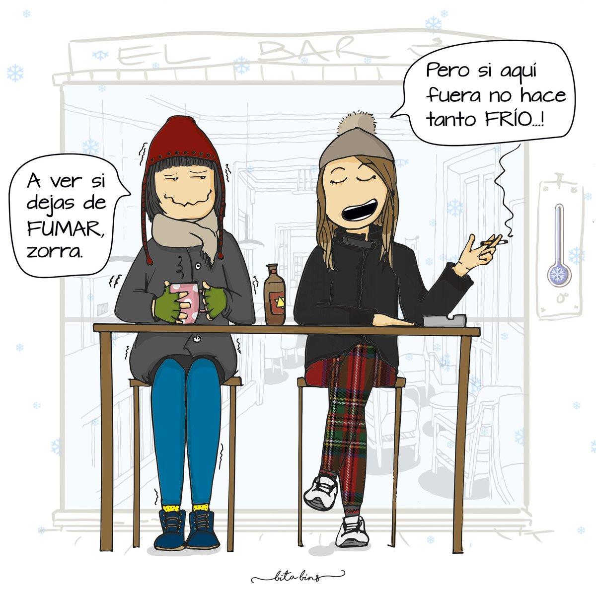 Bita Bins A Twitter Para Esa Gente De Terraza Del Bar En
