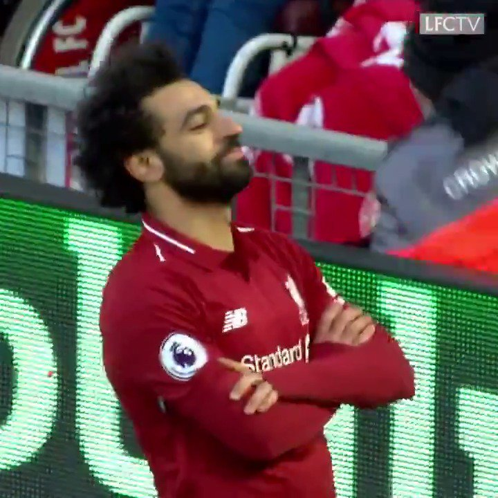 60 seconds of Mo Salah's best bits from #LIVBOU. You're welcome