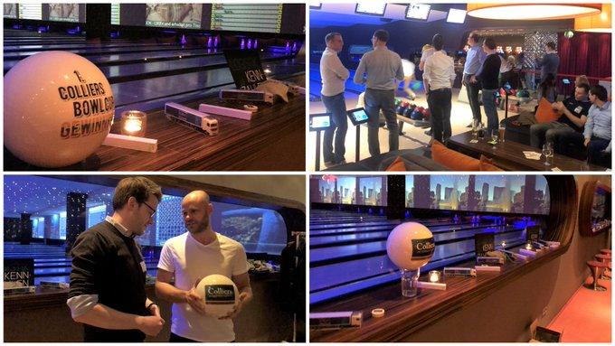Networking mit Strike!<br><br>Herzlichen Dank allen Teilnehmern des 1. Colliers Bowl Cups in #Berlin! Unser Industrial &amp; Logistics Team hat mit seinen Gästen eine gepflegte Kugel geschoben und gratuliert den Gewinnern vom Team BEOS @beostweets!<br><br>Wir freuen uns schon auf die Revanche! t.co/eNVDywHmh6