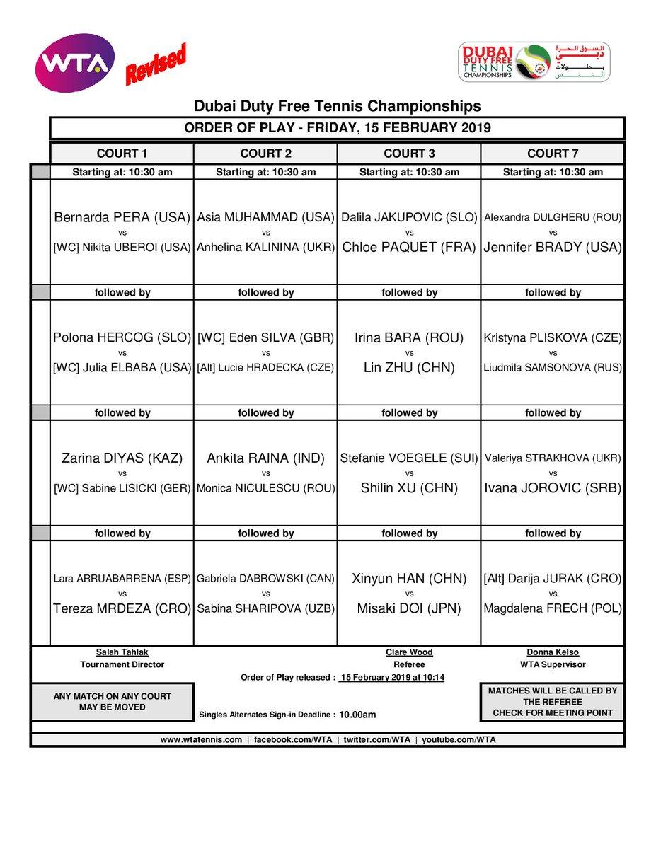 WTA DUBAI 2019 Dzby1gzX4AIPJII