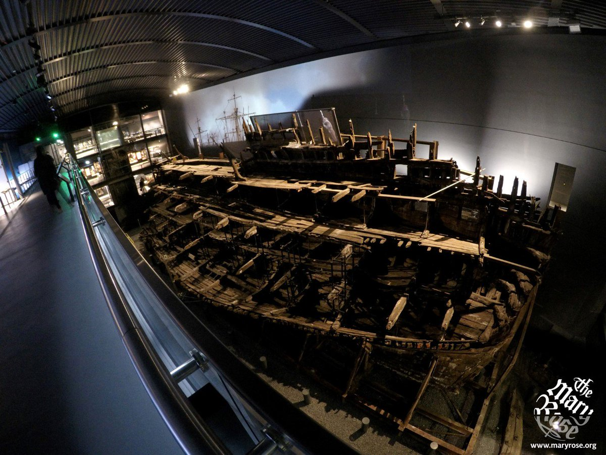 The Mary Rose. 500 Years. A heartbeat away.