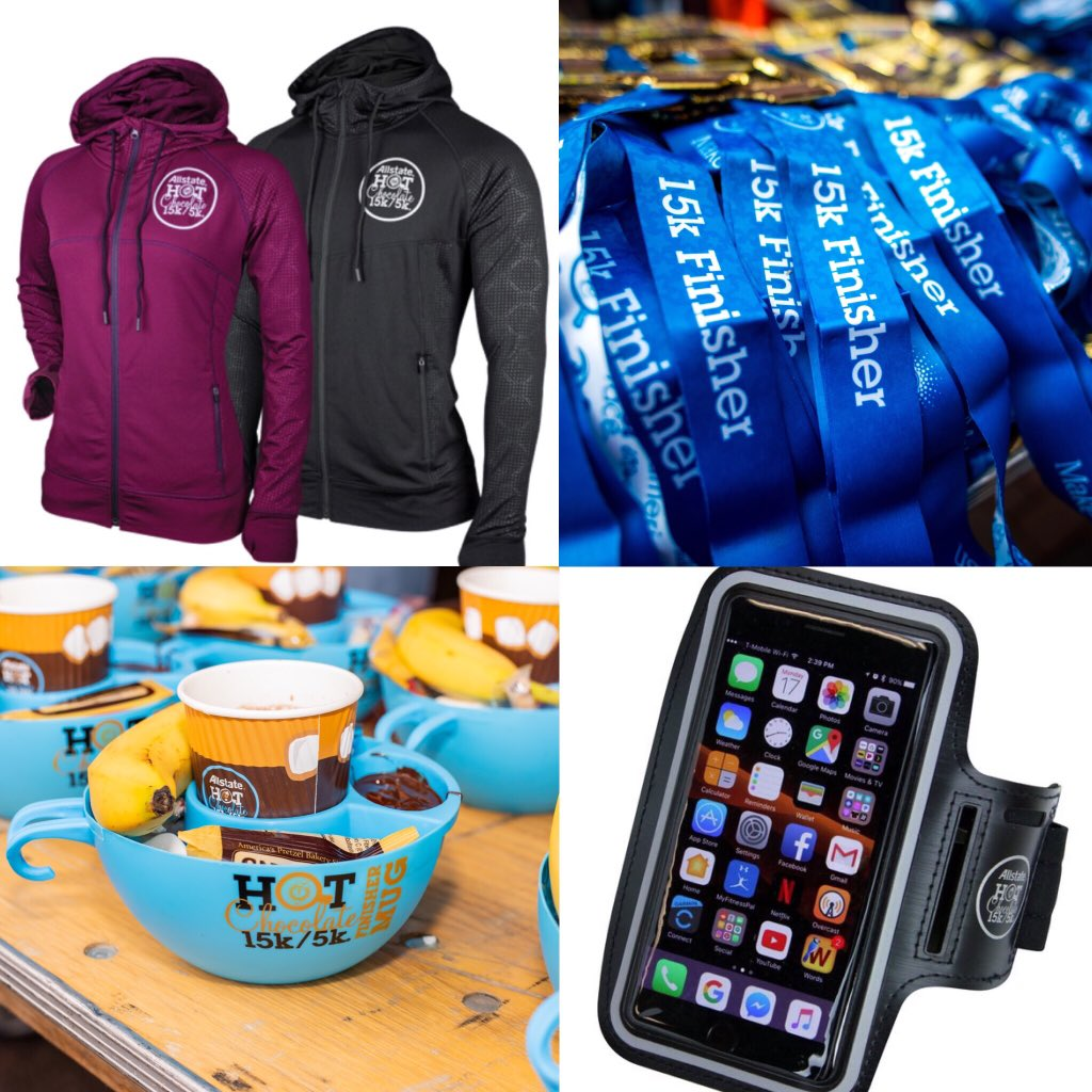 🚗 Atlanta .@HotChocolate15k expo after work 🚙  Lots of great race sponsors to check out and there's still time to signup!  Use BRHCAtlanta to get a free armband too when you register  https://www.hotchocolate15k.com/ #HCATLBR #BibChat #HC15K #BibRavePro #BibRave