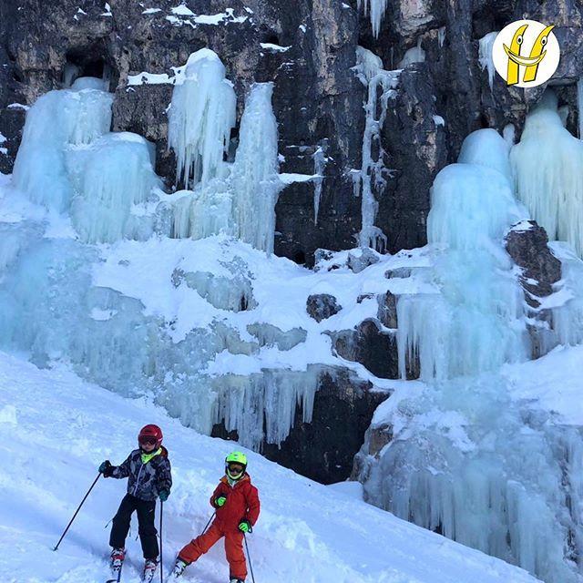 Il classico appuntamento con le cascate ghiacciate