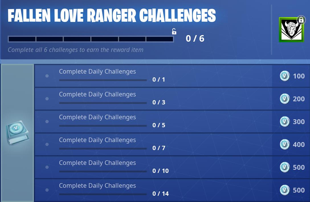 Fortnite News Fnbr News On Twitter Here Are The Fallen Love