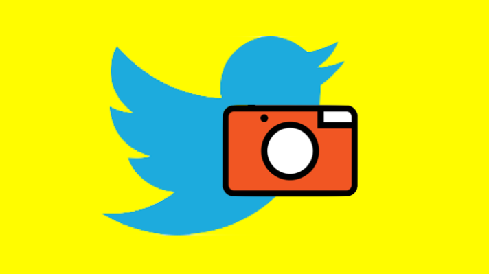 First look at Twitter's Snapchatty new Camera feature: Twitter has been secretly developing an enhanced camera feature that's accessible with a swipe from the home screen and allows you to overlay captions on photos, videos, and Live broadcasts before…  https://t.co/kxad6HqZX2