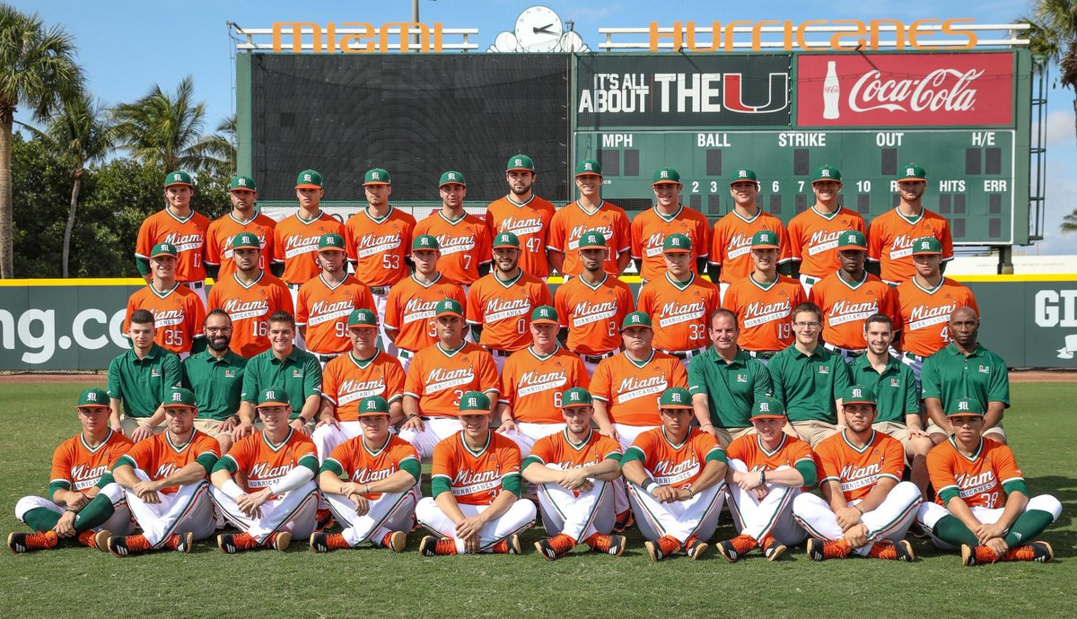 Good luck this season to @GinoDiMare1 and @CanesBaseball 🙌🏽⚾️🙌🏽 The Road to Omaha begins tonight! 🔙🔛🔝