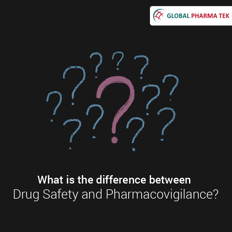 What is the difference between Drug Safety and Pharmacovigilance? See why you're supposed to be part of the GPT Pharmacovigilance team! Visit @ https://bit.ly/2IlXpjA #Pharmacovigilance #DrugSafety