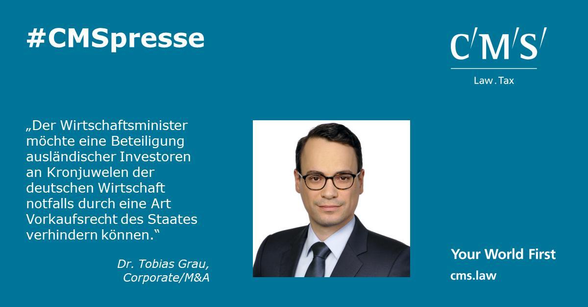 """test Twitter Media - https://t.co/hi2YBv5pYT: Die vorgestellte """"Nationale Industriestrategie 2030"""" des @BMWi_Bund sorgt besonders wegen des vorgeschlagenen nationalen Beteiligungsfonds für Aufsehen. Unsere RAe Dr. Tobias Grau & Kai Neuhaus dazu mit einem Gastbeitrag @lto_de https://t.co/YZTYEQ2cdM https://t.co/ywvHsuHmTI"""