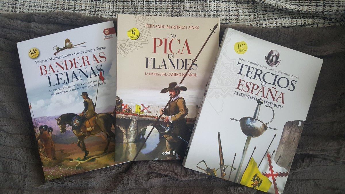 ¡Ya estan aqui! Muchas gracias @31EneroTercios @EditorialEdaf  ¡¡¡A leer!!!