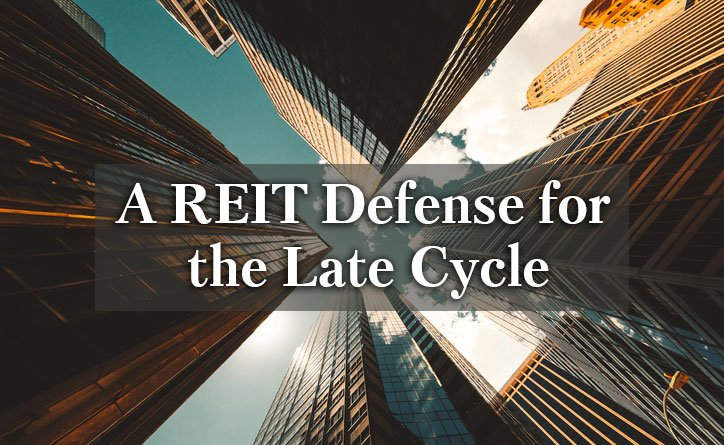 "A healthy #realestate backdrop, attractive values and low correlations may offer a strong defense against #latecycle volatility, in our view.  Download ""A REIT Defense for the Late Cycle"" to learn more. #REITs http://bit.ly/2X6Vumi"