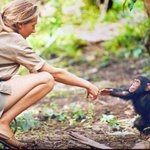 Be a hand that reaches out. Be a smile for those that have no reason to smile. Be a light for those that live in darkness.  Pic Jane Goodall Institute  RT @ramblingsloa  #JoyTrain  #SuccessTRAIN