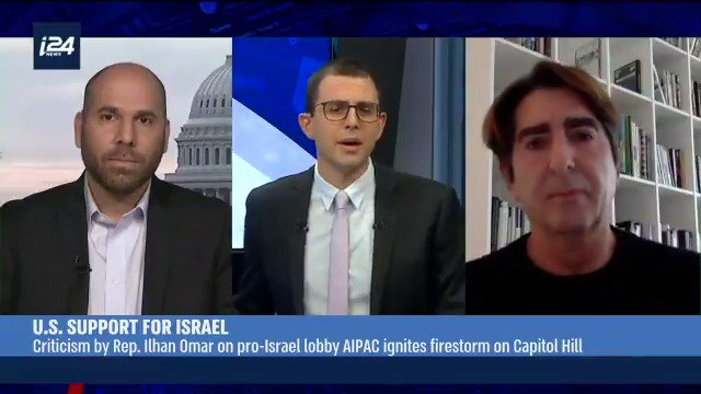 Taking on #AIPAC directly: I debated an AIPAC National Council member about his organization's smear campaign against @IlhanMN & the destructive role they play in policymaking more broadly: