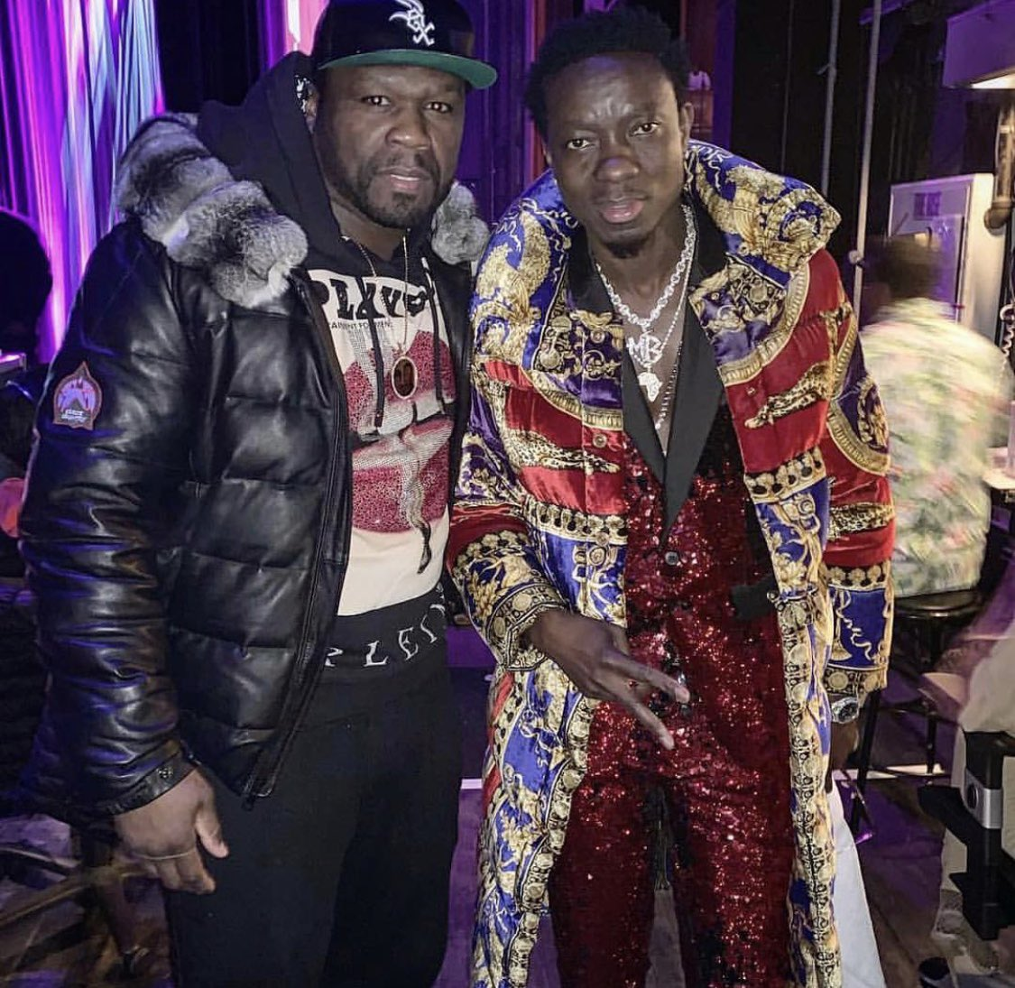 I would rather wear the shit @MichaelBlackson got on then Gucci right now. 🤦♂️what the fuck Michael 🤔#bellator #bransoncognac #lecheminduroi